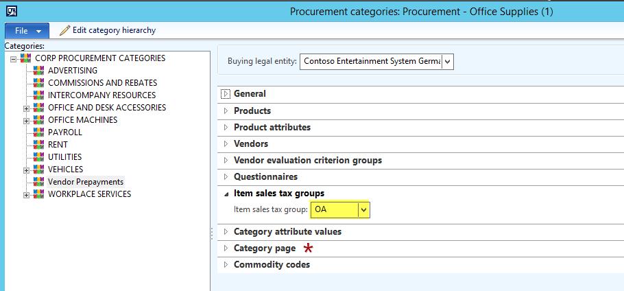 prepayments dynamics 365fo ax finance controlling