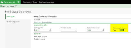 Accounts on the invoice lines | Dynamics 365FO/AX Finance