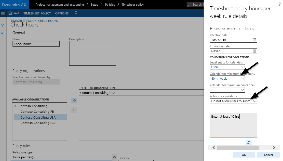timesheets missing working time finance and operations community