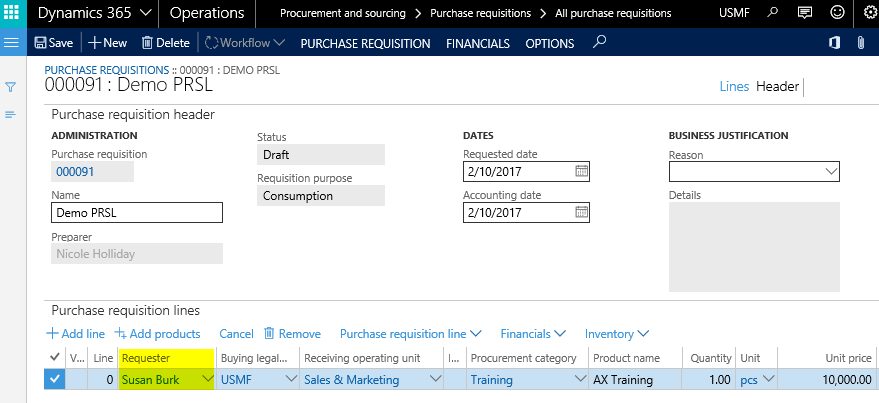 signing limits | Dynamics 365FO/AX Finance & Controlling