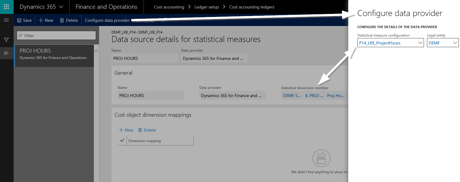 Statistical measure provider templates | Dynamics AX Finance ...