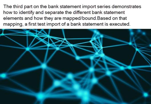 银行对账单导入–第3部分 / BANK STATEMENT IMPORT – PART 3