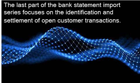 银行对账单导入 - 第五部分 / BANK STATEMENT IMPORT – PART 5